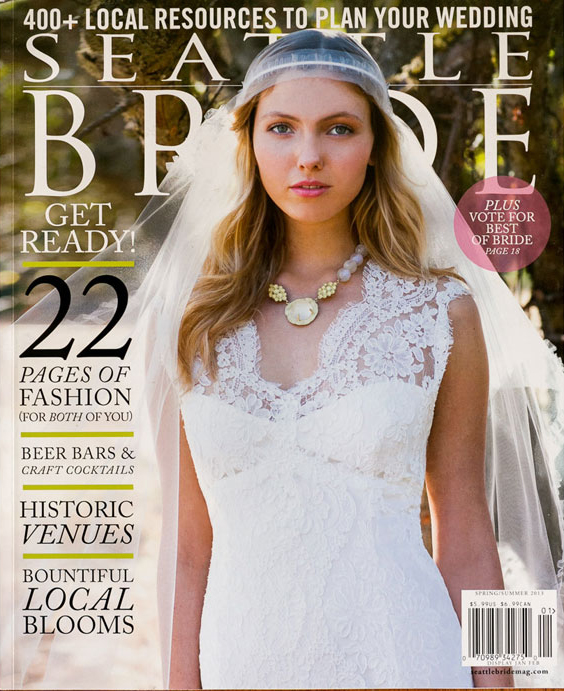 seattle bride spring summer 2013 cover
